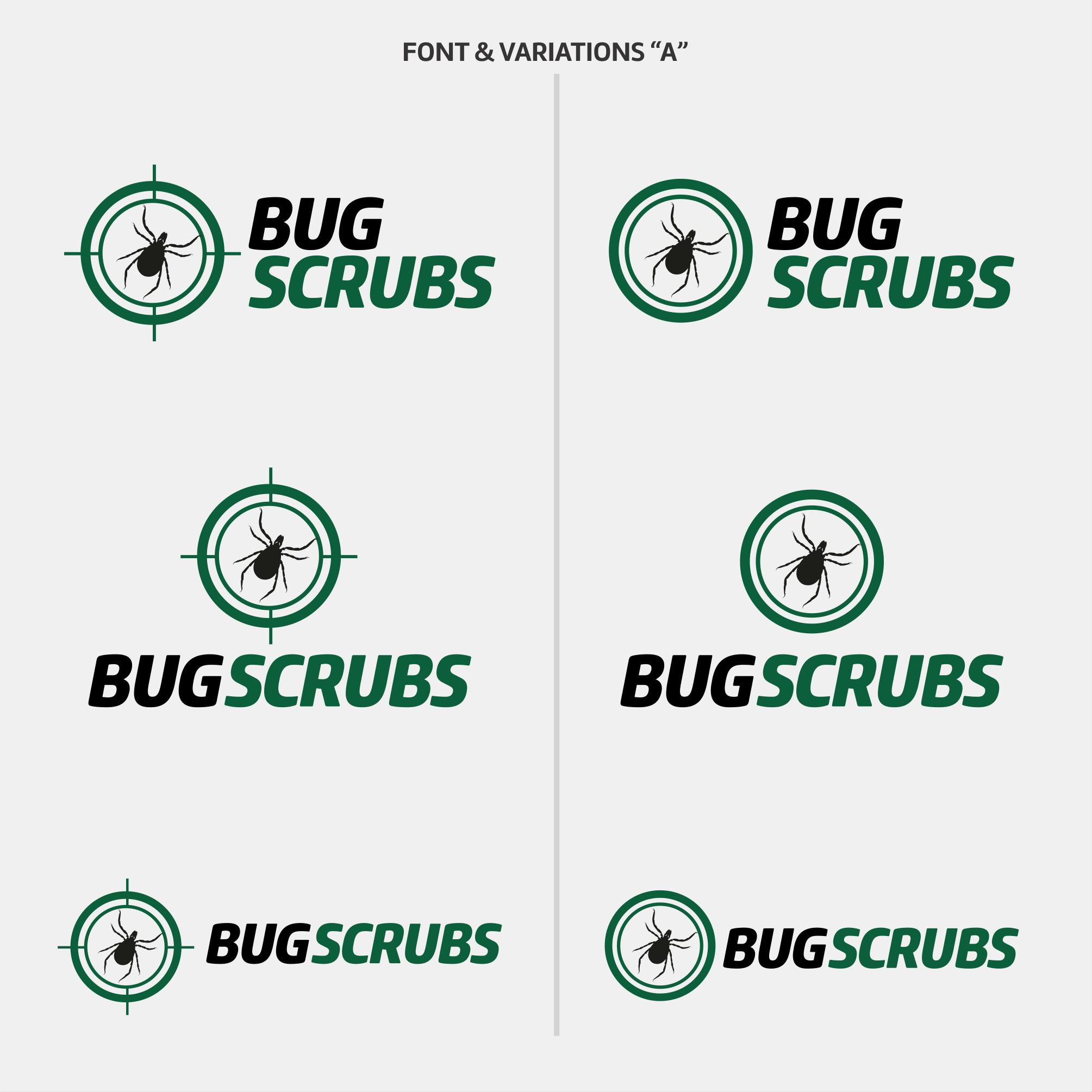 Original Logo for Bug Scrubs brand