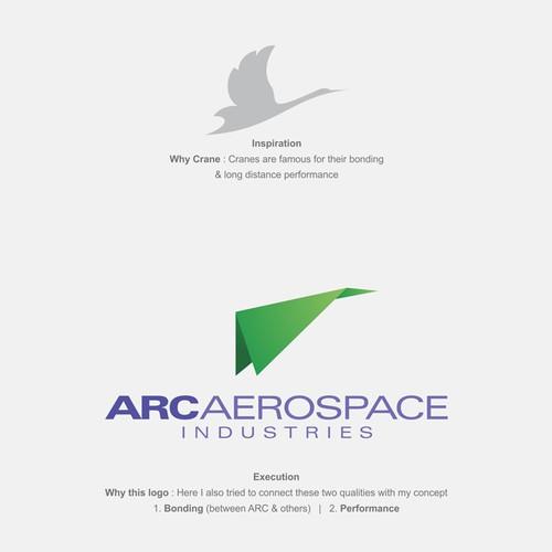 Create a winning logo for ARC Aerospace Industries