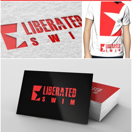 Design a logo for a men's swimwear line :)