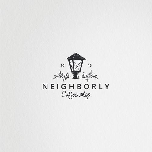 Design a simple & memorable logo for Neighborly Coffee Shop
