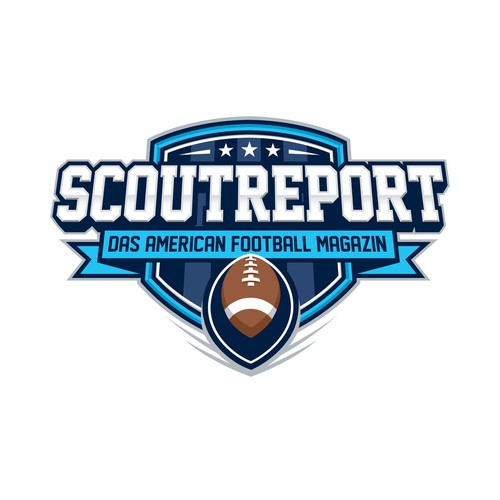 Scoutreport logo design