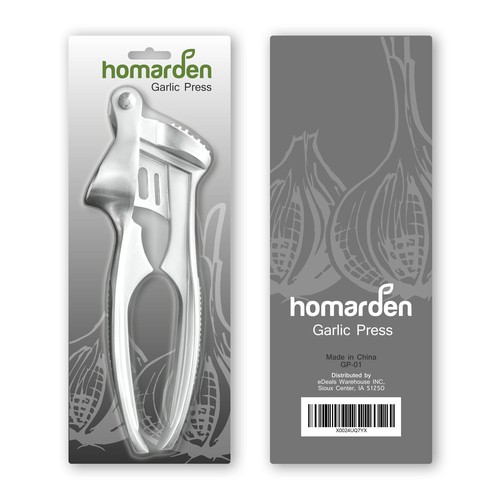 HOMARDEN GARLIC PRESS