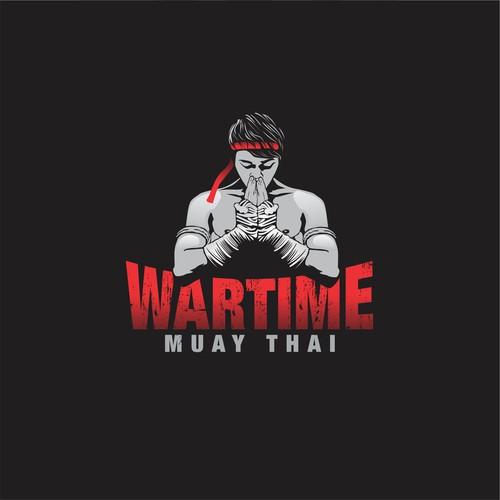 logo for wartime muay thai