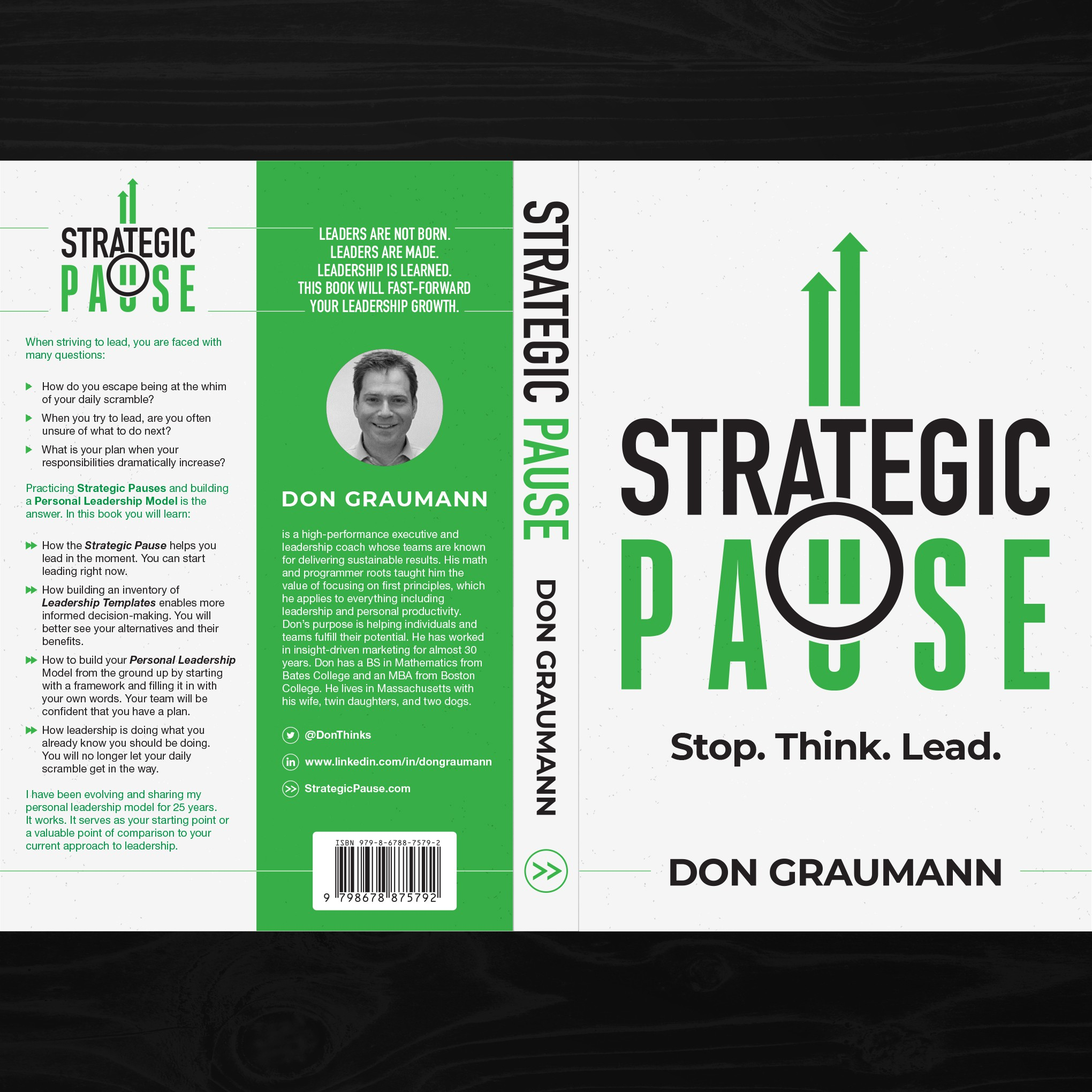 Cover for Leadership Book that Accelerates Leadership Development