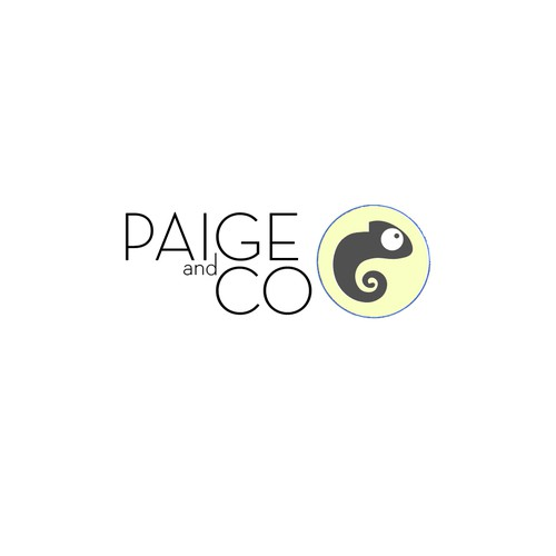 Simple Logo for Paige and Co.