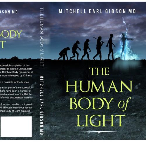 Human body of light