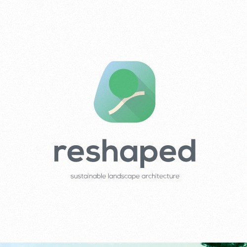 logo and business card for reShaped