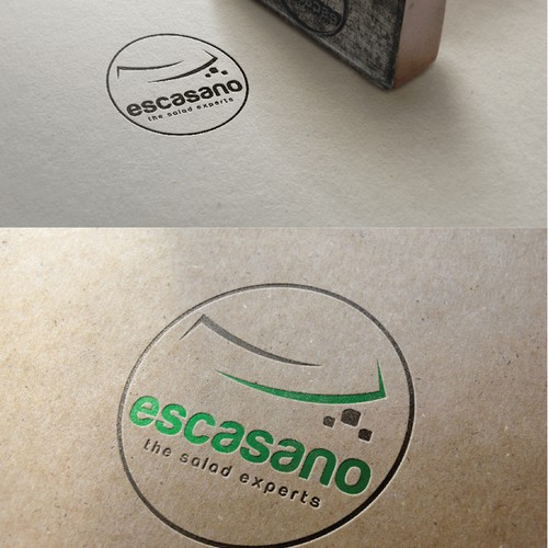 Create a new catchy logo for a premium saladbar!