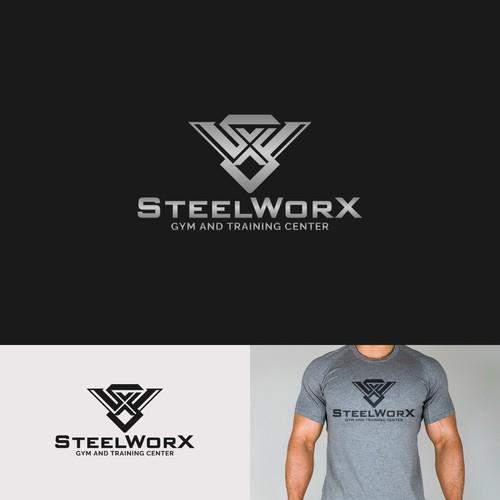 SteelWorX Logo Design