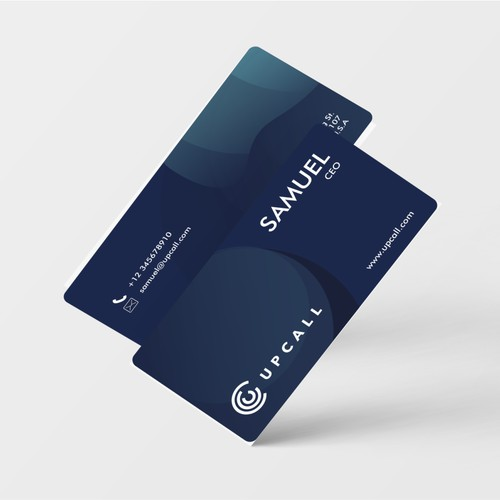 Upcall Business card design