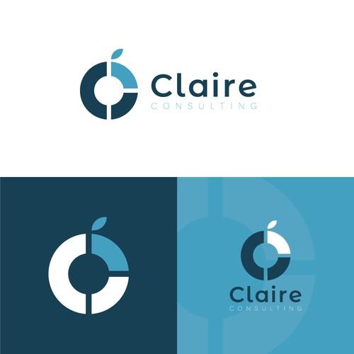 Claire Consulting Logo Design