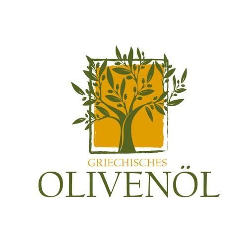 Grichisches-olivenoel Logo Wettbewerb