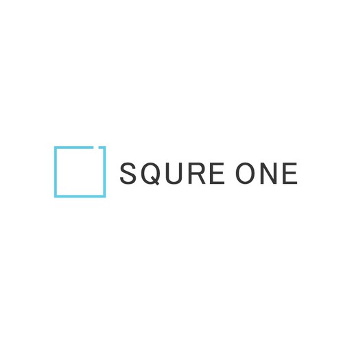 SQURE ONE LOGO DESIGN