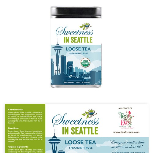 Sweetness in Seattle TEA