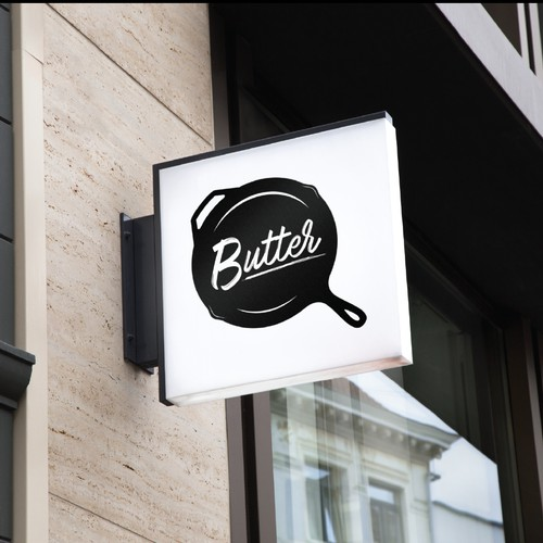 Logo for restaurant : Butter