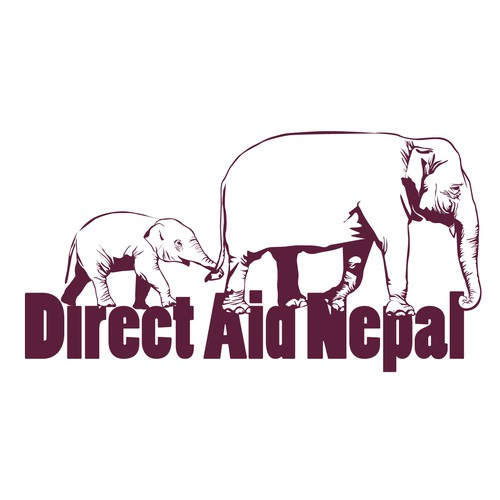 logo for direct aid nepal