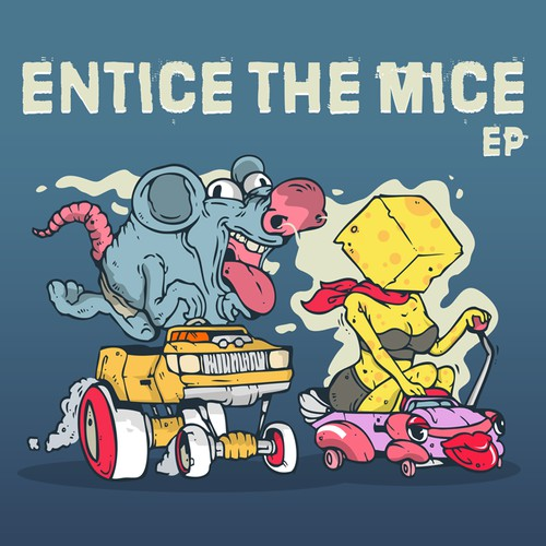 What do you see when you hear the band name Entice The Mice? Can you make it for us?