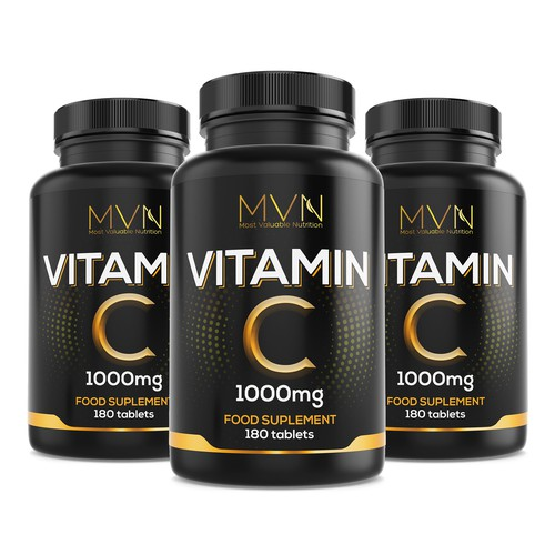 Concept design for vitamin c product