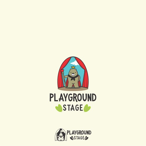 Logo design for Playground Stage