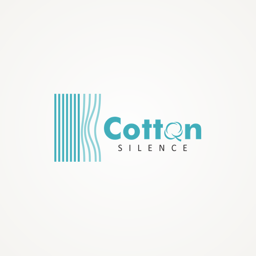 Logo design for Cotton Silence