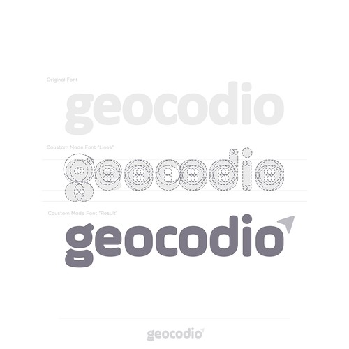 logo design for Geocodio™