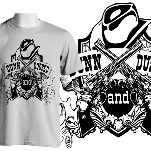 Dunn & Dusted Clothing Logo. For the Club Scene and For the Fitness fanatics