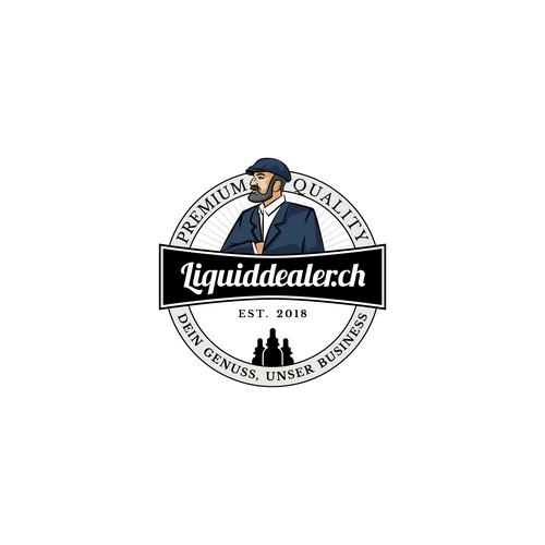 Liquiddealer.ch logo design