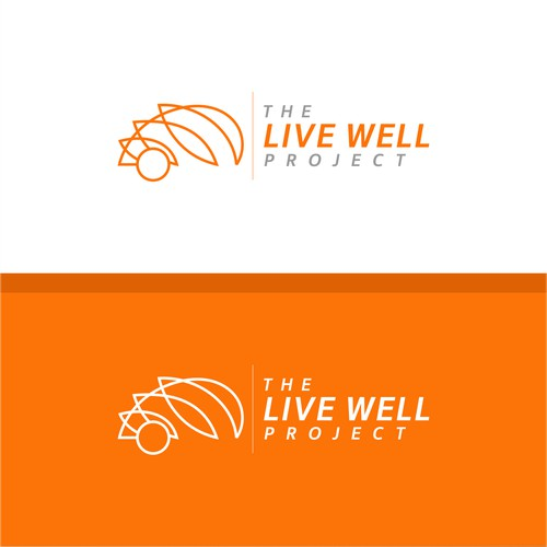 luxury logo for Live Well Project