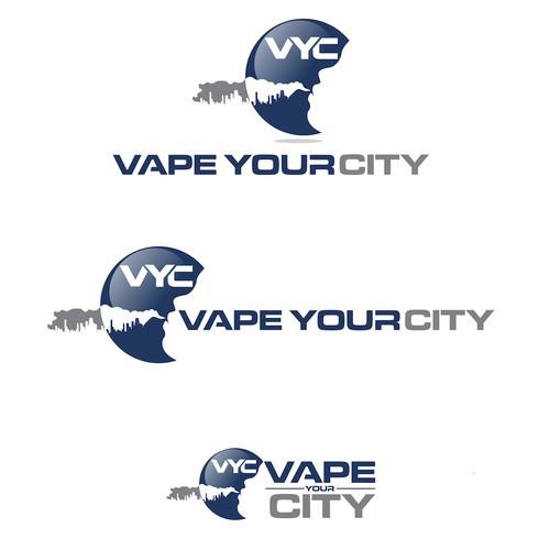 vape you city logo