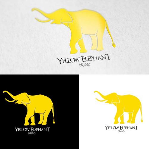 Logo réalisé pour Yellow Elephant Brand