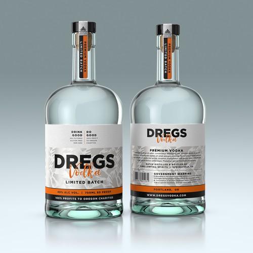 Design Vodka Bottle Packaging