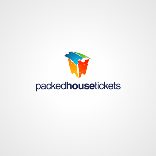 Create the next logo for Packed House Tickets