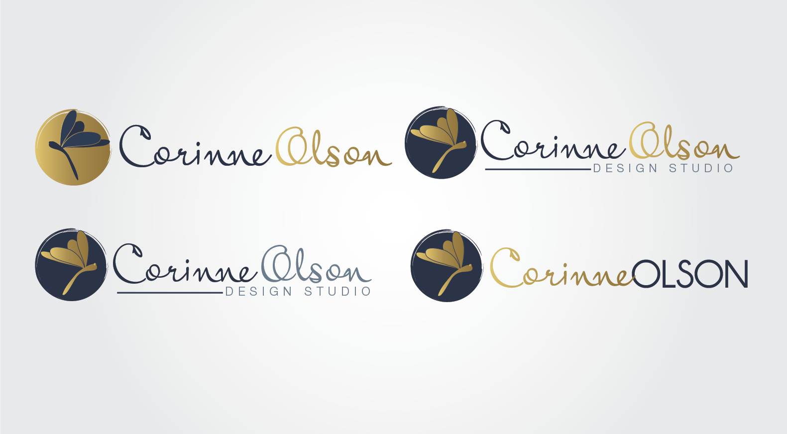 Help Corinne Olson with a new logo