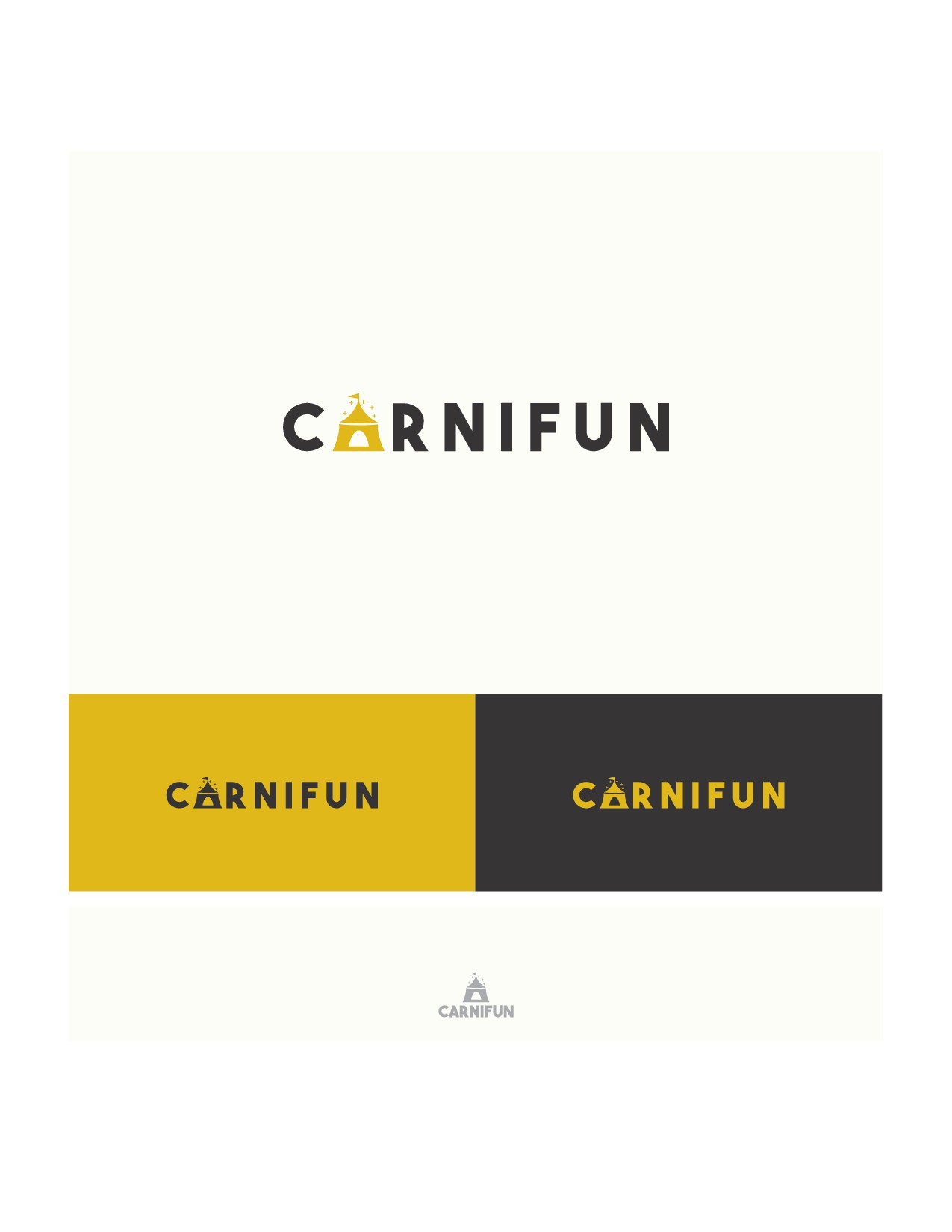 Design a simple logo for Carnifun with a big impact