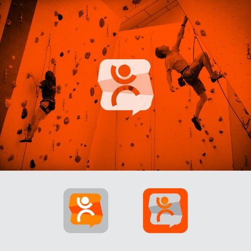 Chat Apps logo for climber