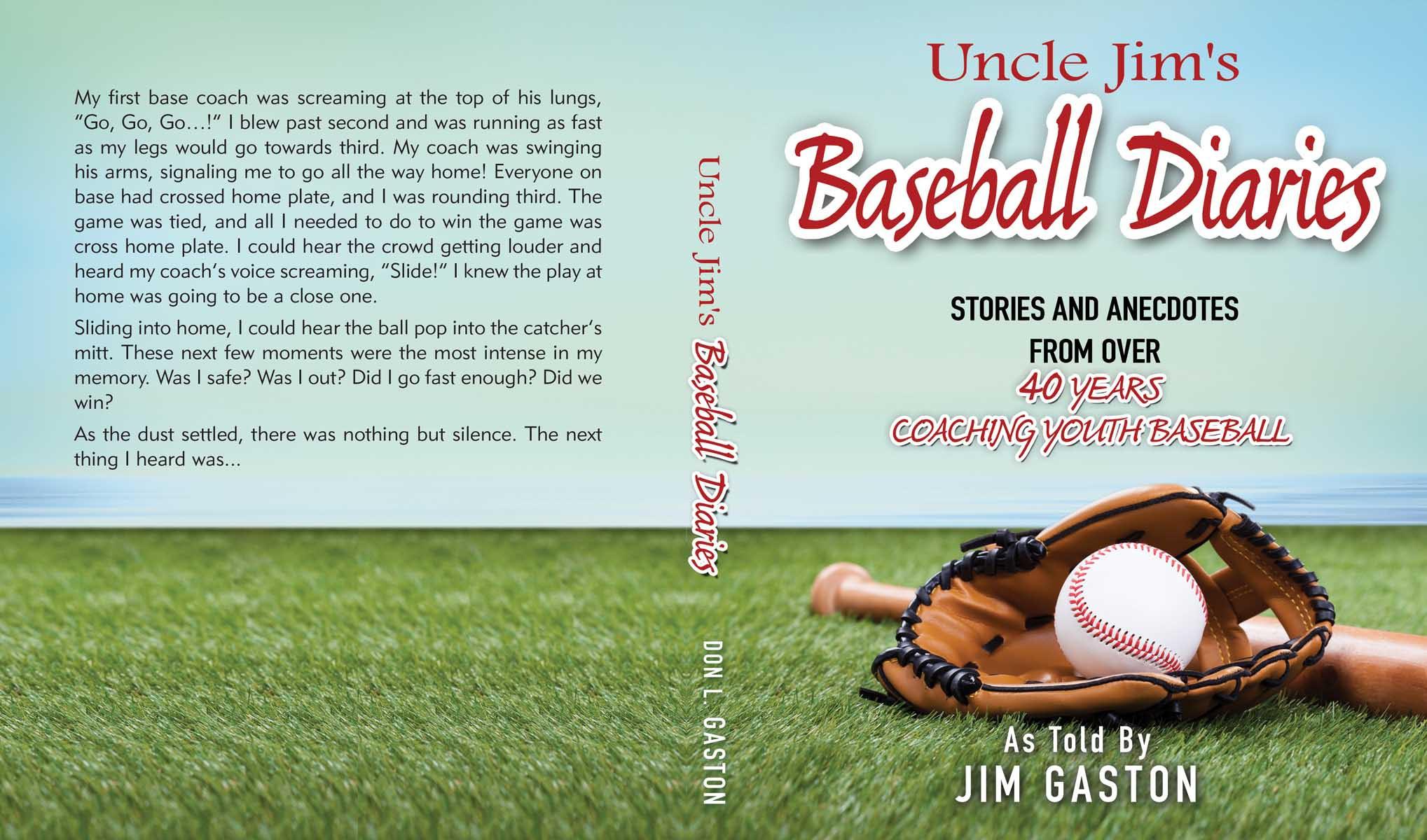 Little league baseball book cover