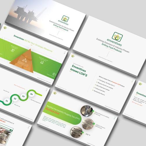 Powerpoint Template Design- Contest Winner