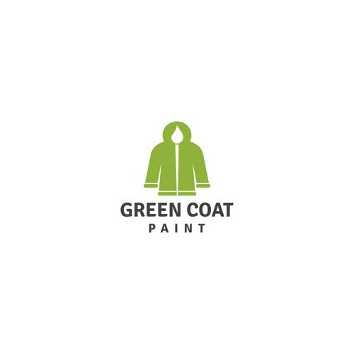 green coat paint