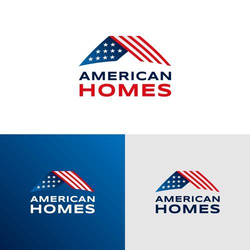 American Homes - Logo Design