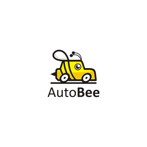 logo concept for autobee