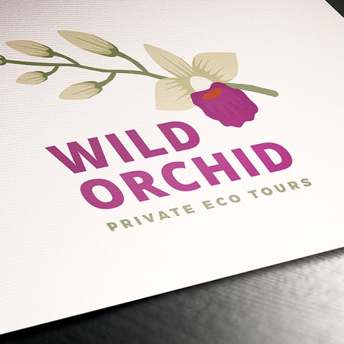Logo design for Wild Orchid Tours
