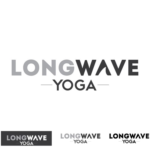 LONGWAVE YOGA needs a modern, inspired, and epically cool logo