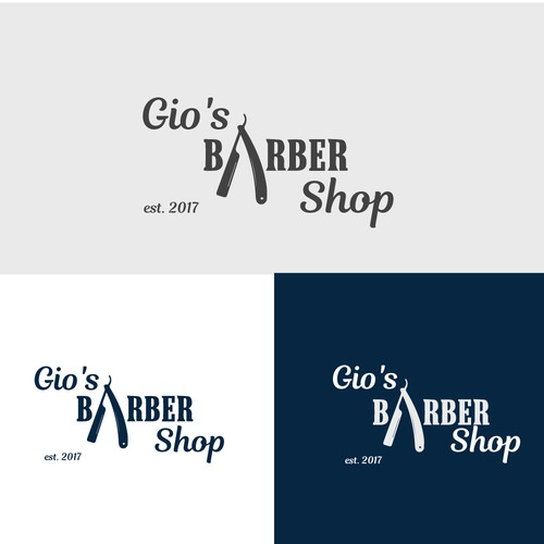 Barber shop Looking for a sick Logo design