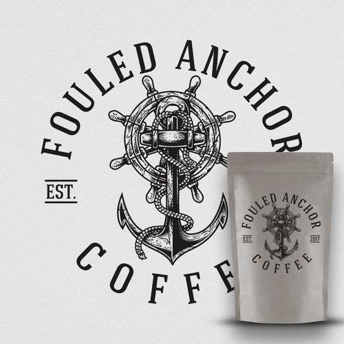 Nautical themed logo design