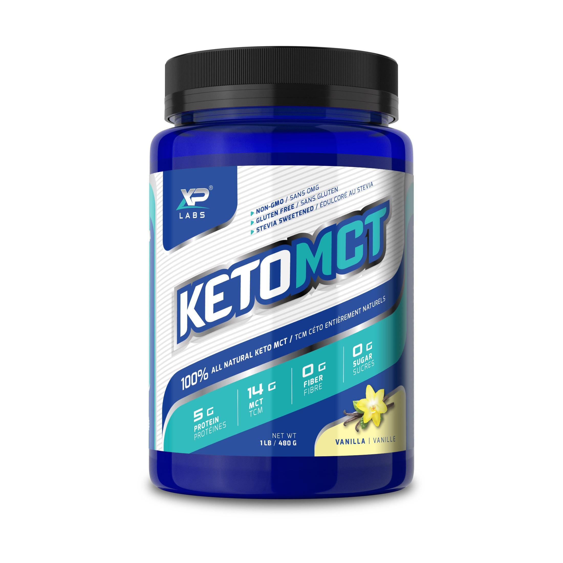 KetoMCT - Label Design