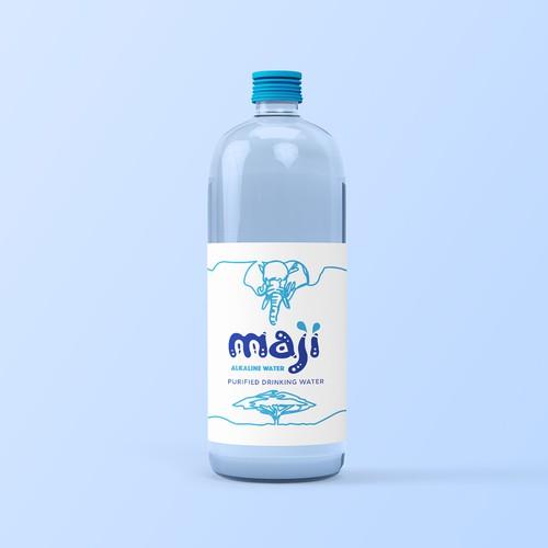 Water packaging design