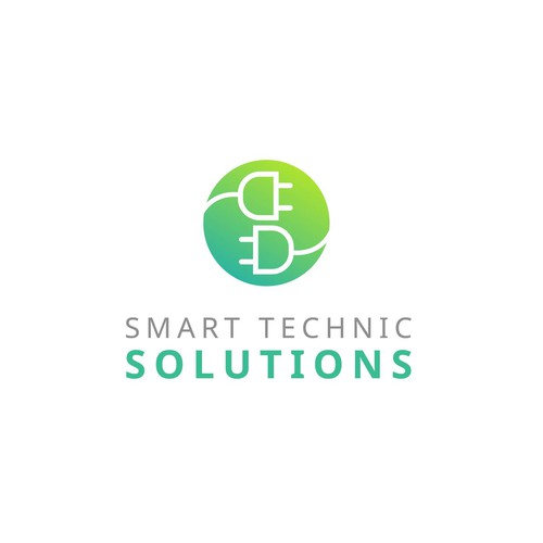 Logo concept for smarttechnology company