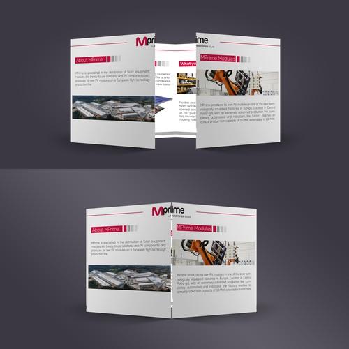 Optimus Energy  Brochure Design
