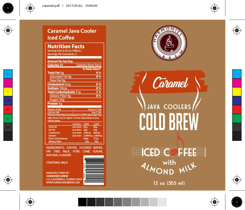Design a sophisticated Label for our Java Coolers