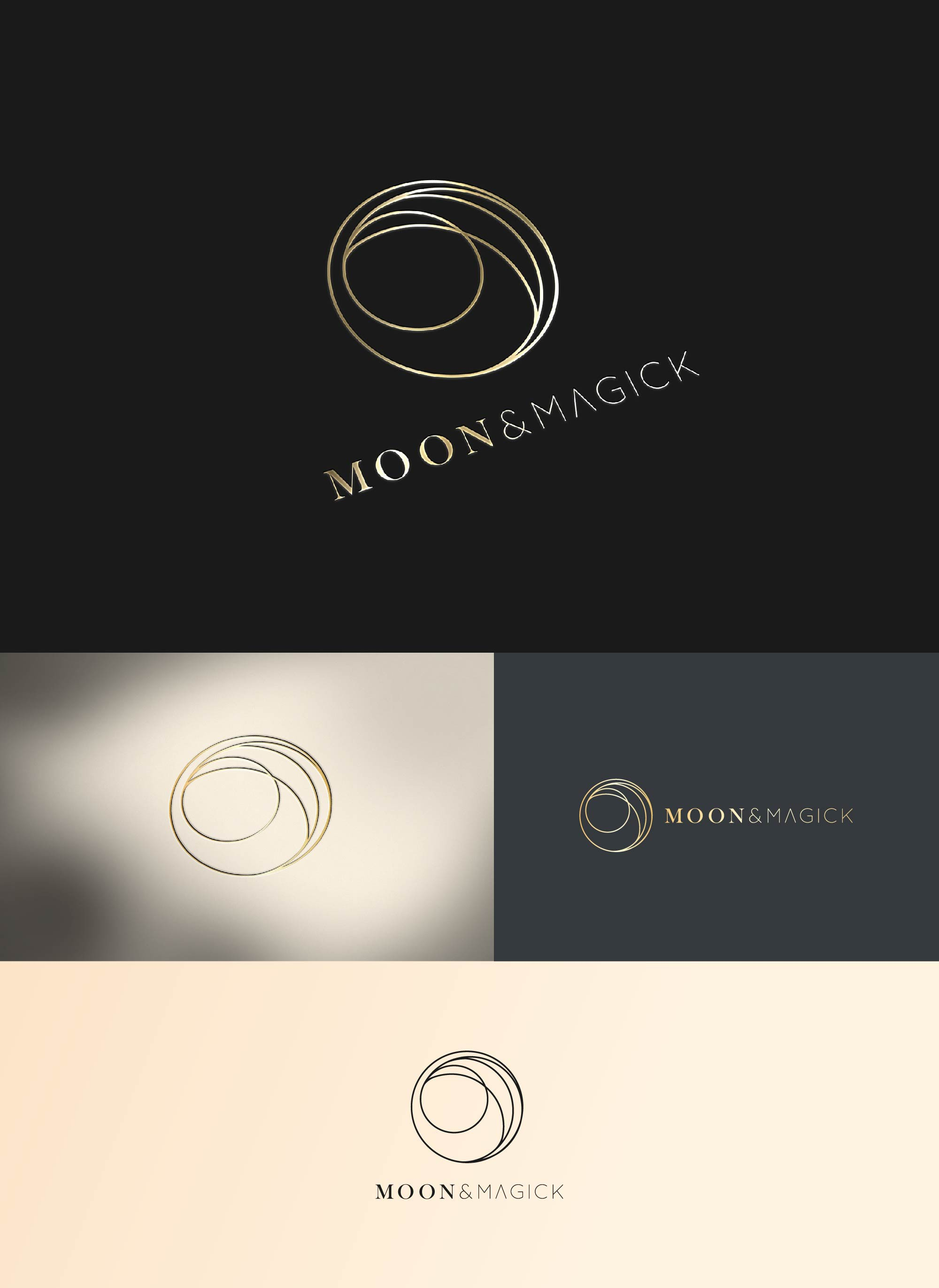 Moon & Magic - design a simple, clean & sophisticated logo
